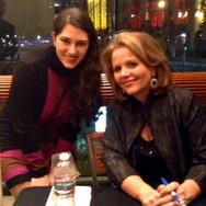 Meeting Renée Fleming at Davies Hall in San Francisco, January 2013