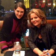 Meeting Renée Fleming at Davies Hall in San Francisco, January 2013