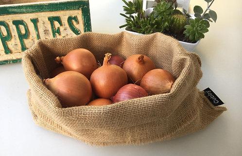 Double thickness Hessian Fruit & Veg Sack