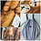 Thumbnail: CUBBY Cotton Drawstring Bread/Tote Bag with handle