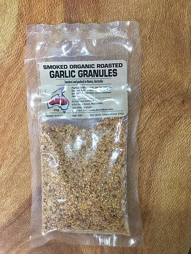 Smoked Organic Roasted Garlic Granules