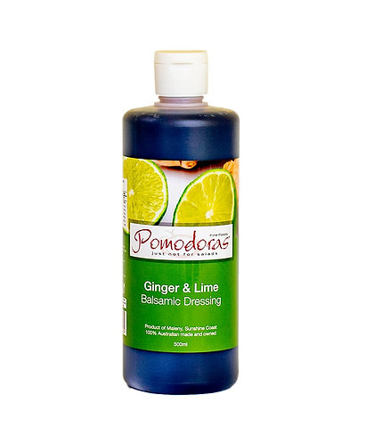 500g Ginger and Lime Balsamic Dressing