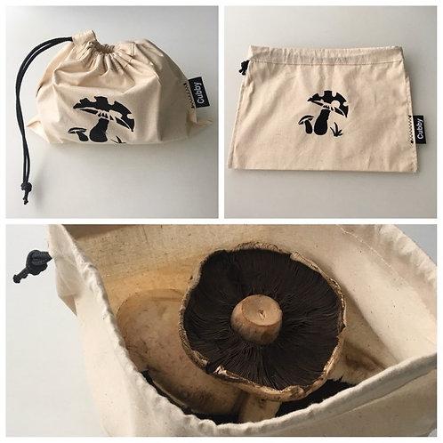 Calico Mushroom Bags