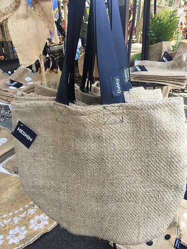 Large Hessian Market Bag