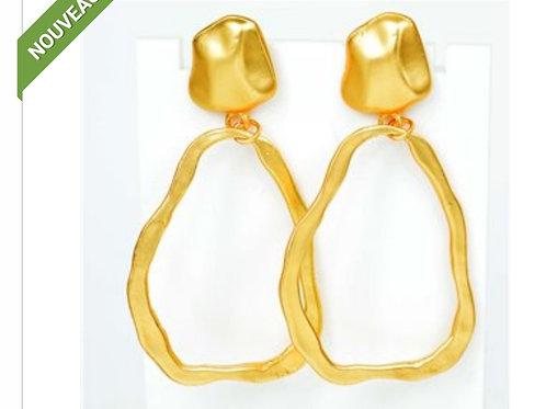 BOUCLES OREILLES GOLD