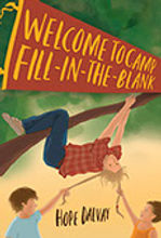 Hope Dalavey Book Cover for Welcome to Camp Fill in the Blank