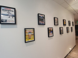 Mur des légendes du sport