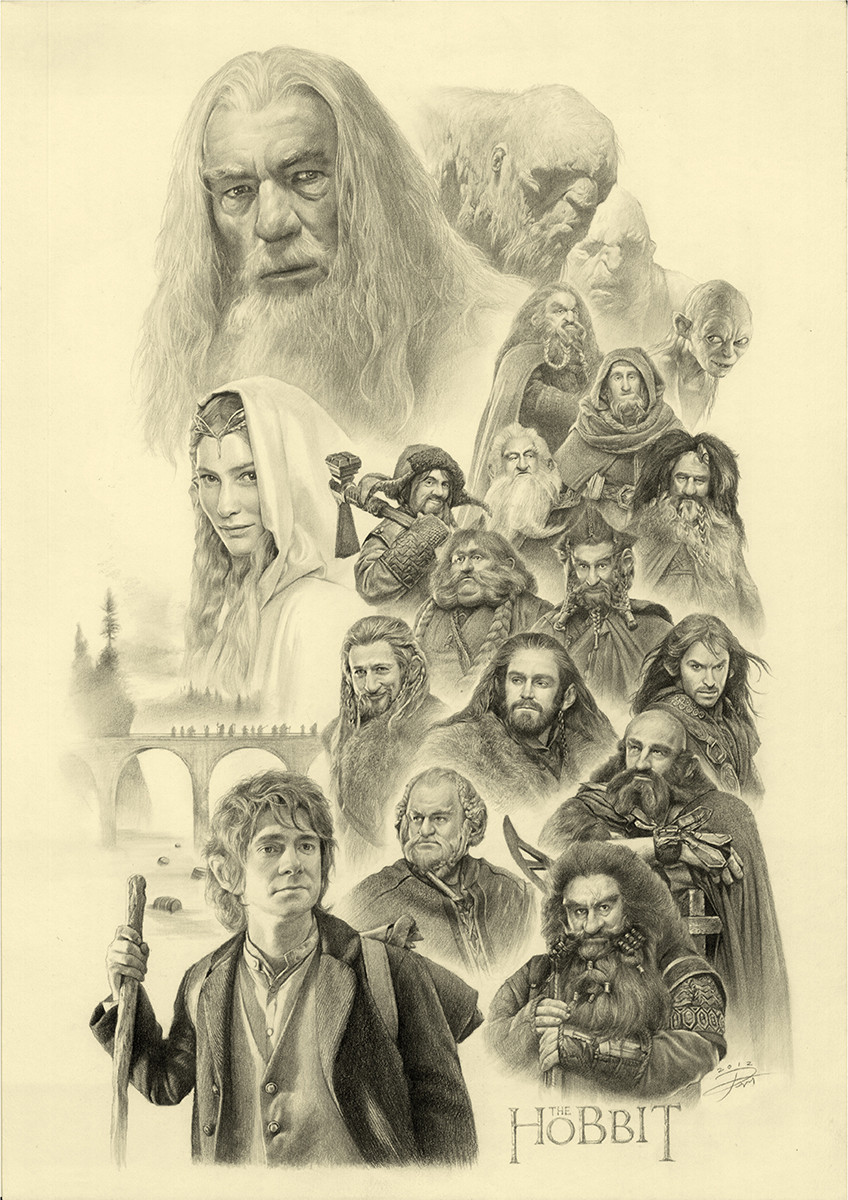 The hobbits by YinYuming.jpg