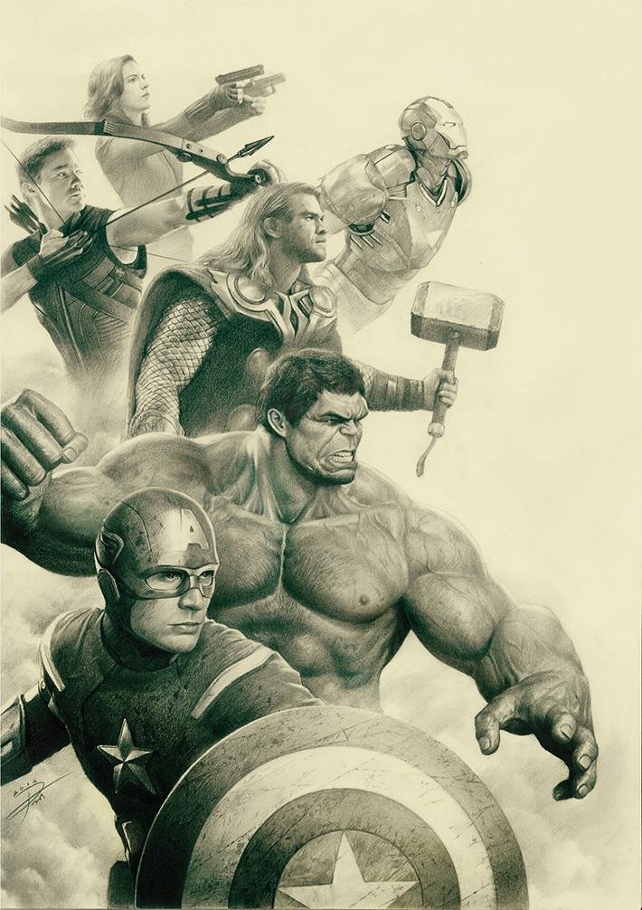 Avengers By YinYuming.jpg