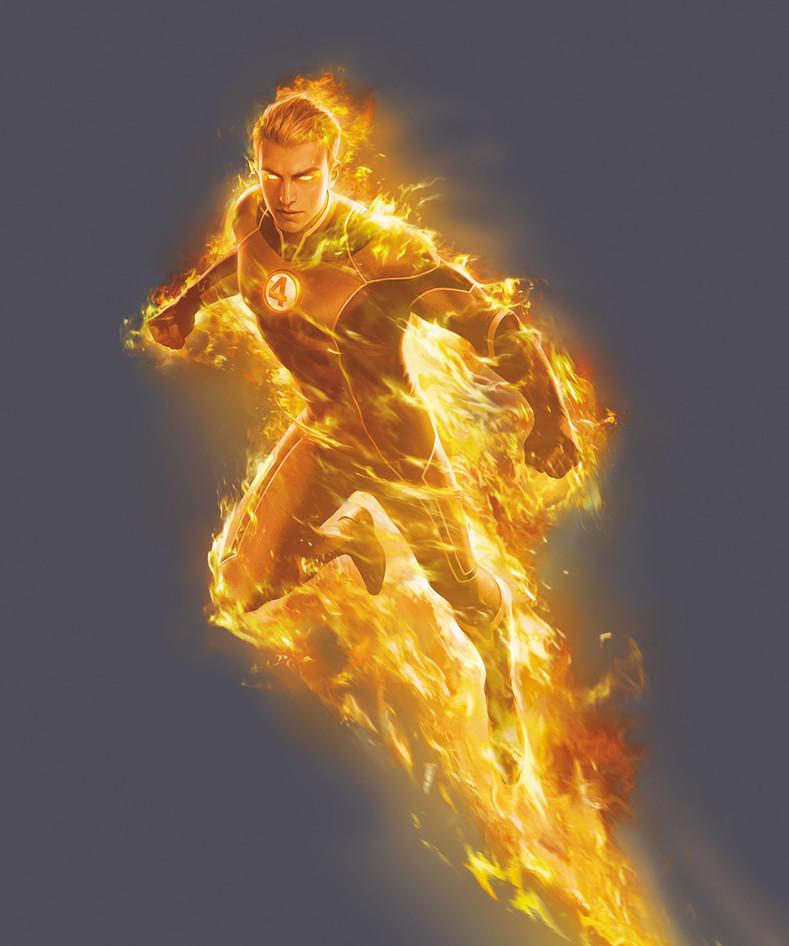 Human Torch By YinYuming.jpg