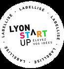 Macaron labellisé Lyon Start up.png