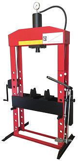 Presse hydraulique sur bâti avec pompe manuelle