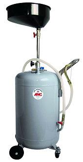 Récupérateur d'huile par gravité de 80L avec bac et grille