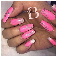 blossom beauty, halifax acrylic nails