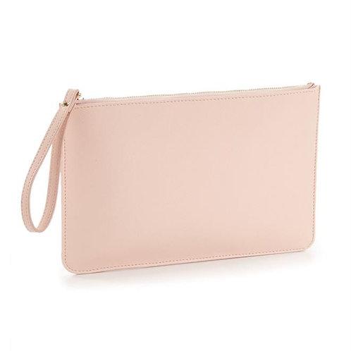 Blush Clutch Bag