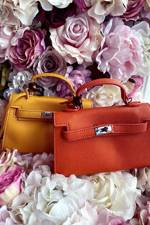 Buckle mini handbag