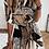 Thumbnail: Animal print shirt dress