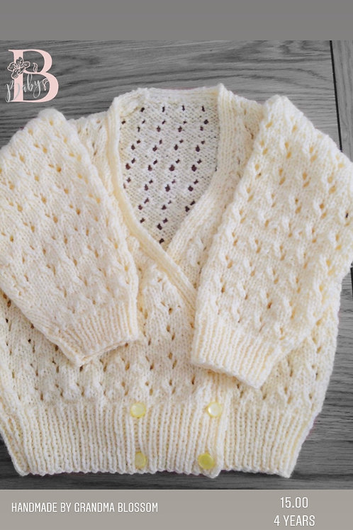 Lemon Knit Cardigan