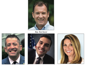 Three Challengers for US Rep. Tom Suozzi