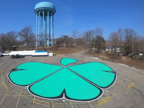 "Milleridge Boasts ""World's Largest Shamrock"""