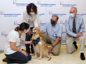 Therapy Dog Returns to Hospital