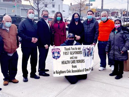 Ozone civic holds food drive