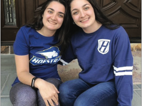 Hofstra University Honors Two Local Students