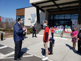 Cold Spring Harbor Student Honored for 10,000 Diaper Donation