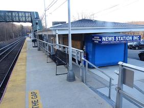 Train Crash at Cold Spring Harbor Station