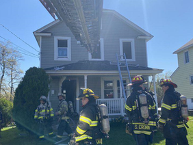 Two Saved from Glen Cove Arson Fire