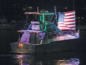 Huntington Holiday Boat Parade