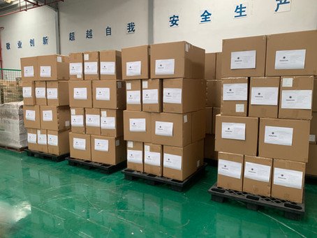 Maskers, from China to Netherlands