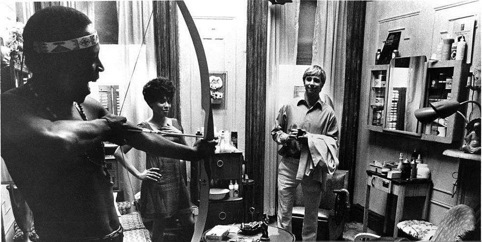 Diana Sands, Beau Bridges, and Lou Gosset Jr.