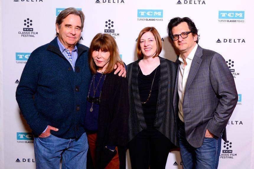 Beau Bridges, Lee Grant with Festival Director Genevieve Mcgillicuddy and TCM Host Ben Mankiewicz