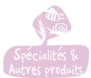 Spécialités et autres produits