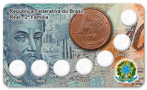 Display Expositor para Série de Centavos Cabral - 2ª Familia