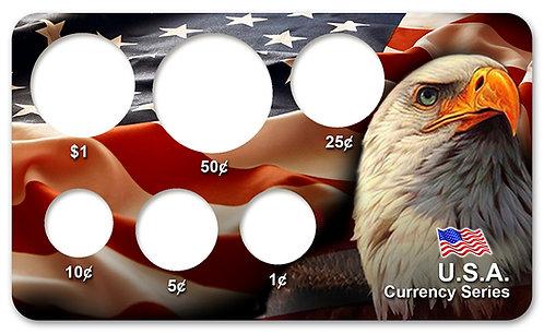 Display Expositor para Série de Moedas do Dólar Americano