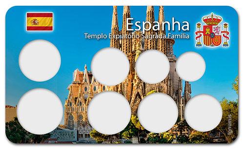 Display Expositor para Moedas do Euro - Espanha