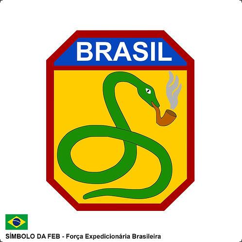 Adesivo FEB - Força Expedicionária Brasileira