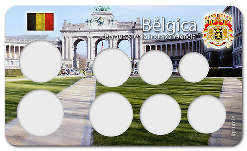 Display Expositor para Moedas do Euro - Bélgica