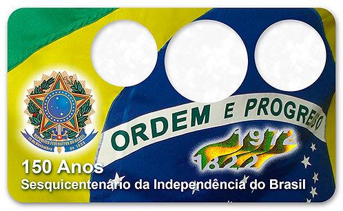Display Expositor com Case para Moedas Cruzeiro - 1972
