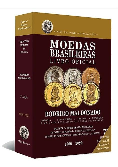 Livro Moedas Brasileiras - Livro Oficial 1500 - 2021