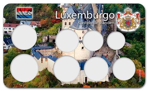 Display Expositor para Moedas do Euro - Luxemburgo