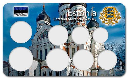 Display Expositor para Moedas do Euro - Estônia
