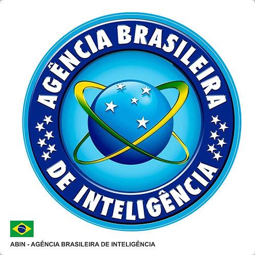 Adesivo ABIN - Agência Brasileira de Inteligência