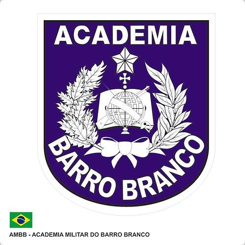 Adesivo do Brasão da Academia Militar Barro Branco
