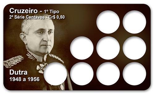 Display Expositor para Moedas Cruzeiro - Presidente Dutra