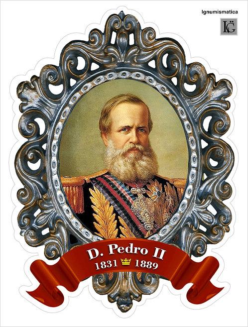 Adesivo Busto do Imperador D. Pedro II