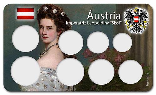 Display Expositor para Moedas do Euro - Áustria