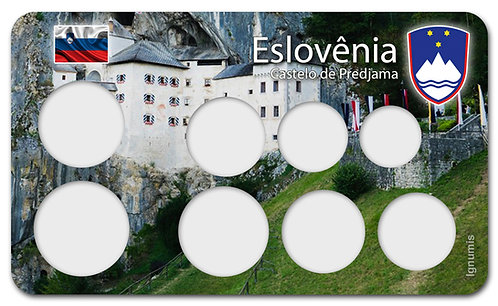 Display Expositor para Moedas do Euro - Eslovênia